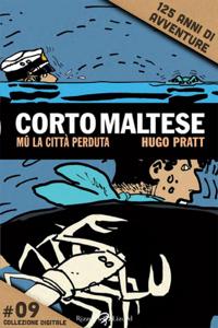Corto Maltese - Mū #9 Copertina del libro