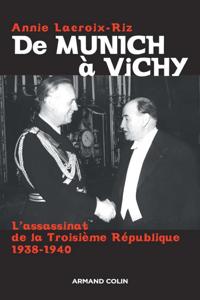 De Munich à Vichy La couverture du livre martien