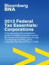 2013 Federal Tax Essentials Corporations