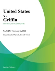 Download and Read Online United States v. Griffin