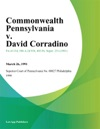 Commonwealth Pennsylvania V David Corradino