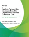 Jebian V Hewlett-Packard Co Employee Benefits Organization Income Protection Plan