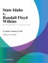 020894 State Idaho V Randall Floyd Wilkins