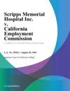 Scripps Memorial Hospital Inc V California Employment Commission