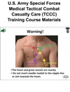 US Army Special Forces Medical Tactical Combat Casualty Care TCCC Training Course Materials