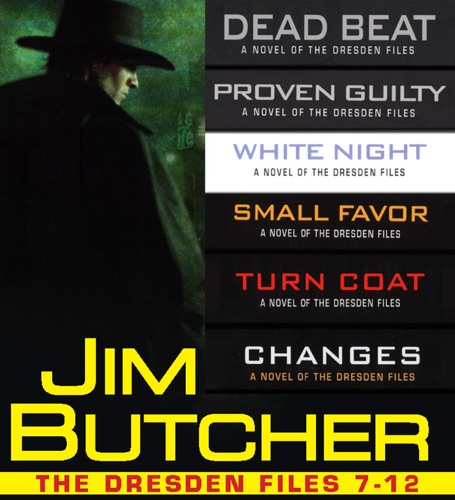 Jim Butcher - The Dresden Files Collection 7-12