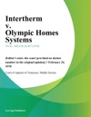 Intertherm V Olympic Homes Systems