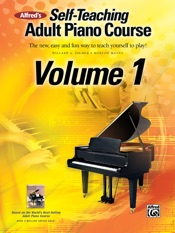 Alfred's Self-Teaching Adult Piano Course, Volume 1