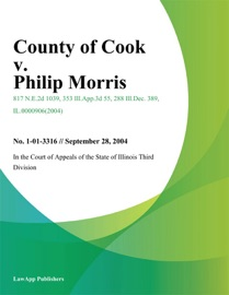 COUNTY OF COOK V. PHILIP MORRIS