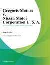 Gregoris Motors V Nissan Motor Corporation U S A