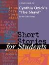 A Study Guide For Cynthia Ozicks The Shawl
