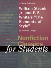 A Study Guide For William Strunk Jr. And E. B. White's