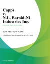 Capps V NL Baroid-Nl Industries Inc