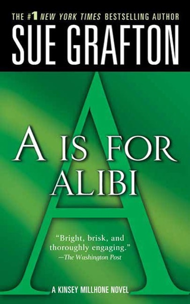 A Is for Alibi - Sue Grafton book cover