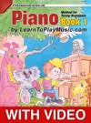 Piano Method For Young Beginners Book 1 - Progressive Lessons With Video