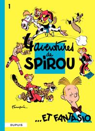Quatre aventures de Spirou et Fantasio