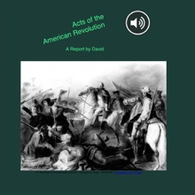 Acts Of The American Revolution