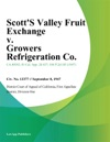 Scotts Valley Fruit Exchange V Growers Refrigeration Co