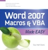 Word 2007 Macros  VBA Made Easy