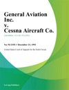 General Aviation Inc V Cessna Aircraft Co