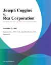Joseph Coggins V Rca Corporation