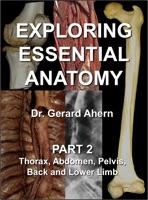 Exploring Essential Anatomy: Part 2