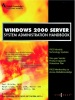 Windows 2000 Server System Administration Handbook