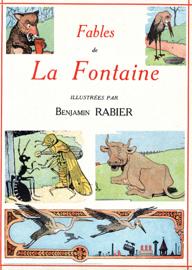 70 fables de La Fontaine illustrées par Benjamin Rabier