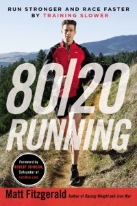 80/20 Running Book Cover
