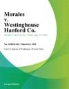 Morales V Westinghouse Hanford Co