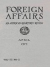 Foreign Affairs - April 1975