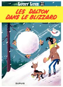 Lucky Luke - Tome 22 - LES DALTON DANS LE BLIZZARD La couverture du livre martien
