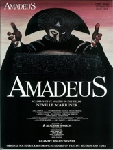 Amadeus (Selections From The Film) (Songbook)