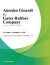 Amedeo Girardi V Gates Rubber Company