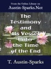 The Testimony And Its Vessel Unto The Time Of The End