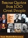 Famous Quotes From 100 Great People