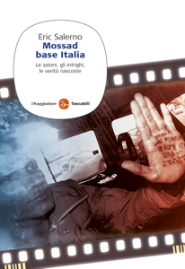 Mossad base Italia Copertina del libro