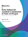 Burrows V State Industrial Accident Commission Of State Of Oregon