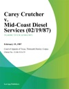 Carey Crutcher V Mid-Coast Diesel Services
