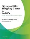 Olympus Hills Shopping Center V Smiths