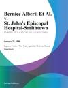 Bernice Alberti Et Al V St Johns Episcopal Hospital-Smithtown