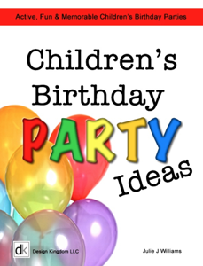 Kid's Birthday Party Ideas Book Review
