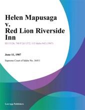 Helen Mapusaga v. Red Lion Riverside Inn