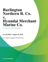 Burlington Northern R Co V Hyundai Merchant Marine Co
