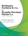 Burlington Northern R Co V Hyundai Merchant Marine Co
