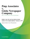 Pmp Associates V Globe Newspaper Company