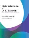 State Wisconsin V O Z Baldwin