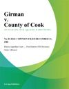 Girman V County Of Cook