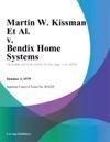 Martin W Kissman Et Al V Bendix Home Systems