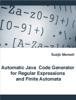 Suejb Memeti - Automatic Java Code Generator for Regular Expressions and Finite Automata artwork